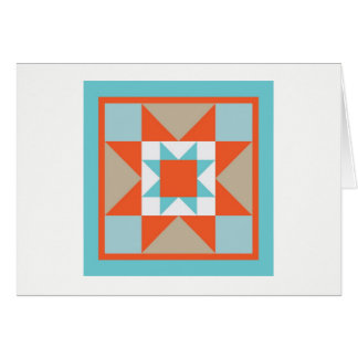 Quilt Note Card - Martha Washington