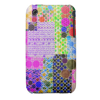 Quilted Abstract Pattern Case-Mate iPhone 3 Case