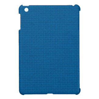 Quilted Deep Ocean Blue iPad Mini Cover
