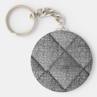 Quilted Key Chain
