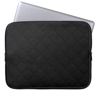 Quilted Look Black Computer Sleeves