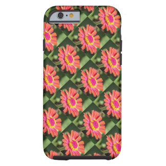 Quilted Patterned Bold Flower iPhone 6/6s Case
