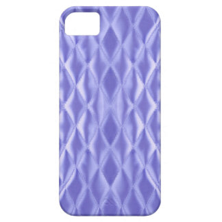 Quilted satin, violet iPhone 5 case