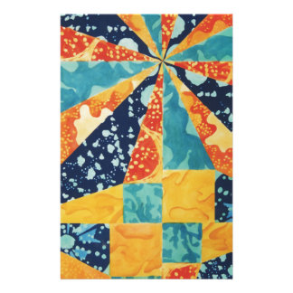 Quilted Under the Sea Stationery