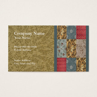 Quilter Business Card
