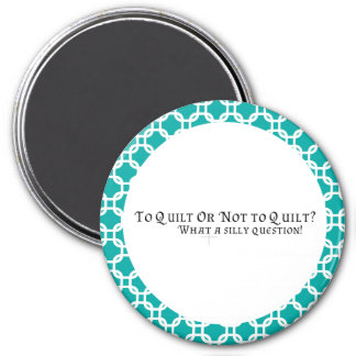 Quilter's magnet