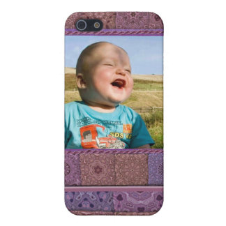 Quilting Enthusiast Photo Template Cover For iPhone 5/5S