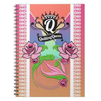 Quilting Queen Notebook