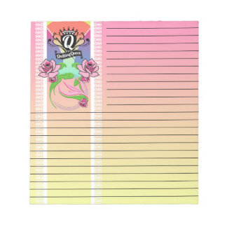 Quilting Queen Notepad