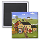 Quilts for Sale Magnet