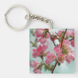 Quince Blossoms Key Ring