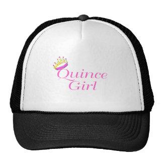 Quince Girl Trucker Hats