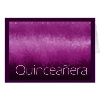 Quinceanera Card