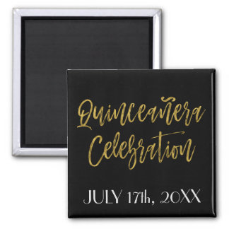 Quinceanera Celebration Save the Date Magnet