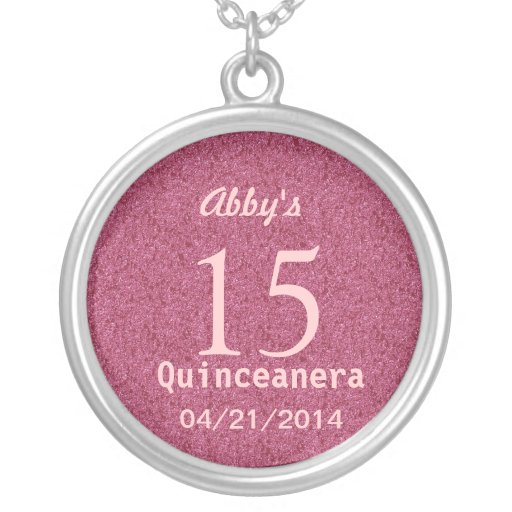 Quinceanera Ideas Silver Necklace