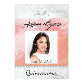 Quinceañera Invitation Photo