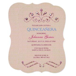 QUINCEAÑERA INVITATION PRINCESS