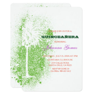 QUINCEAÑERA INVITATION TREE OF LIFE