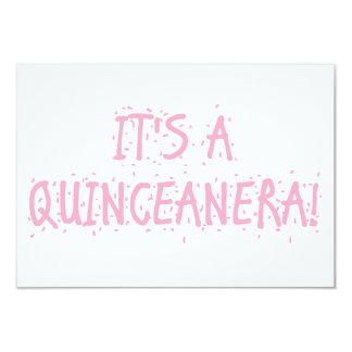 """""""Quinceanera"""" Invitations"""