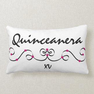 quinceanera lumbar pillow