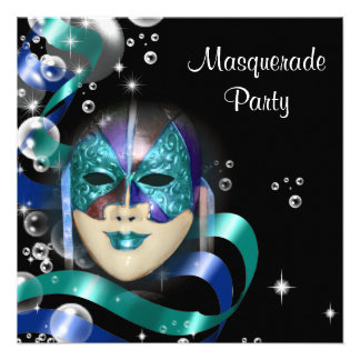 Quinceanera masquerade mask PERSONALIZE Personalized Invites