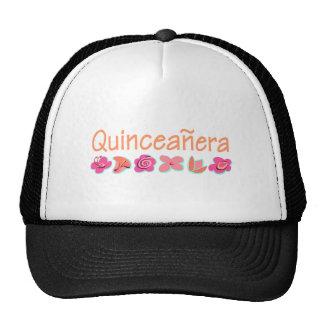 Quinceanera (peach color) cap
