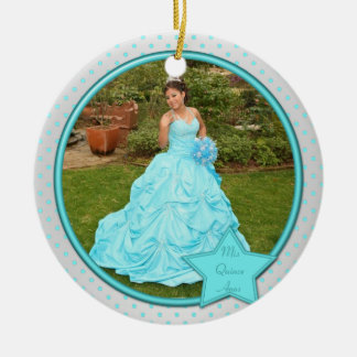 Quinceanera Photo Ornament
