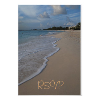 Quinceanera RSVP Guest Reply Custom Announcement