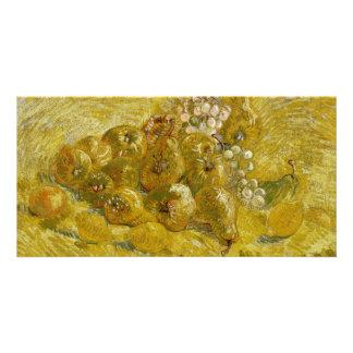 Quinces Lemons Pears Grapes by Van Gogh Picture Card