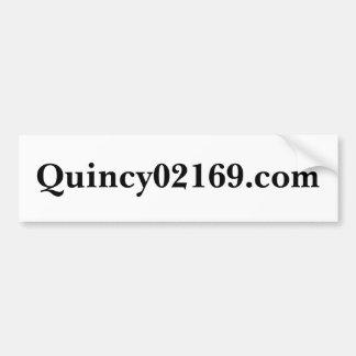 Quincy02169 com bumper stickers