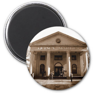 Quincy Market 6 Cm Round Magnet