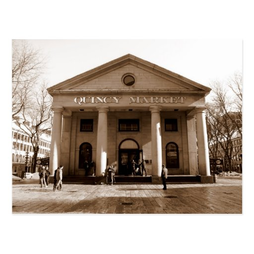 Quincy Market Post Cards