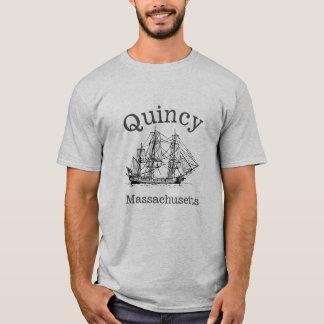 Quincy Massachusetts Tall Ship Boat T-Shirt