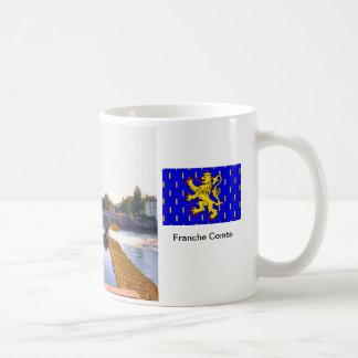 Quingey, bridge and river Doubs Coffee Mug