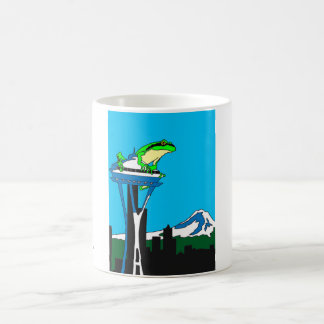 Quintessential Seattle, Washington Coffee Cup