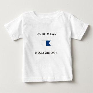 Quirimbas Mozambique Africa Alpha Dive Flag Baby T-Shirt