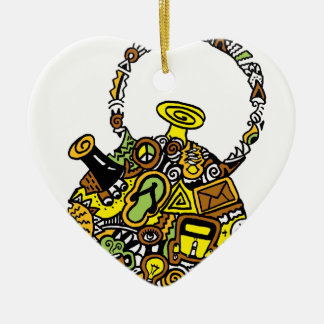 Quirkkettle.png Ceramic Heart Decoration