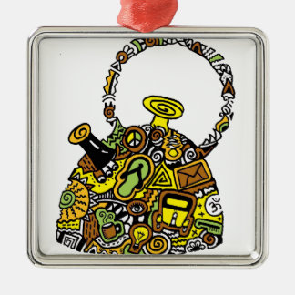 Quirkkettle.png Silver-Colored Square Decoration