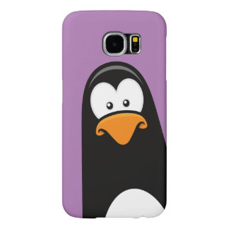 Quirky Cartoon Penguin Samsung Galaxy S6 Cases