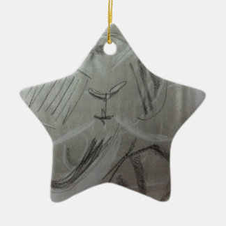 Quirky Charcoal Elephant Ornaments
