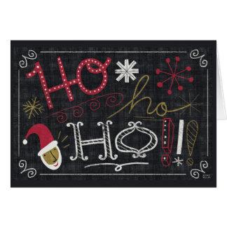 Quirky Christmas Santa Greeting Card
