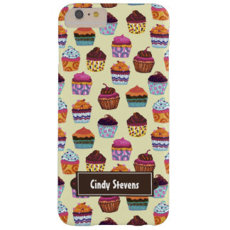 Quirky Colorful Cupcakes iPhone 6 Plus Barely There iPhone 6 Plus Case