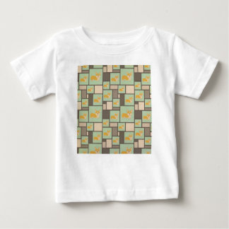 Quirky Corgi Kraft Present Gift Wrap Wrapping Baby T-Shirt