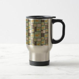 Quirky Corgi Kraft Present Gift Wrap Wrapping Travel Mug