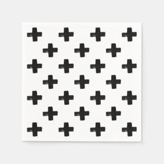 Quirky Crosses Napkins Disposable Napkin