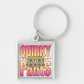 Quirky Flowery Pants Key Chain