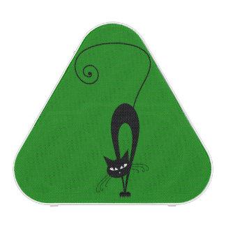 Quirky Funny Black Cat Feline