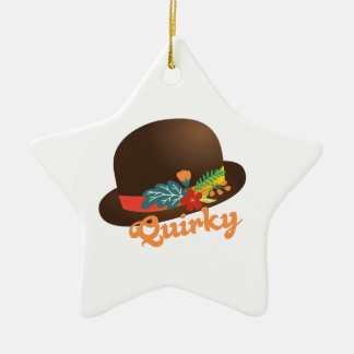 Quirky Hat Christmas Tree Ornament