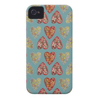 Quirky Hearts Case-Mate iPhone 4 Case