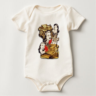 Quirky Office Gals Baby Bodysuit